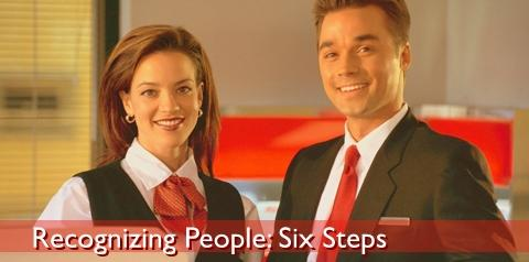 Recognizing People in Six Steps