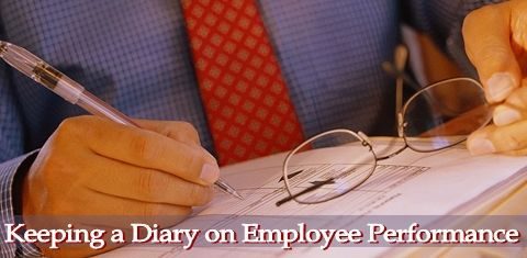Keeping a Diary on Employee Performance