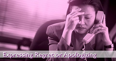 Expressing regret or apologizing: A critical component of leadership