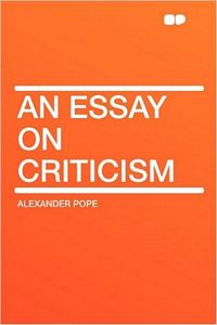 Inspirational Quotations By Alexander Pope  An Essay On Criticism By Alexander Pope Isbn
