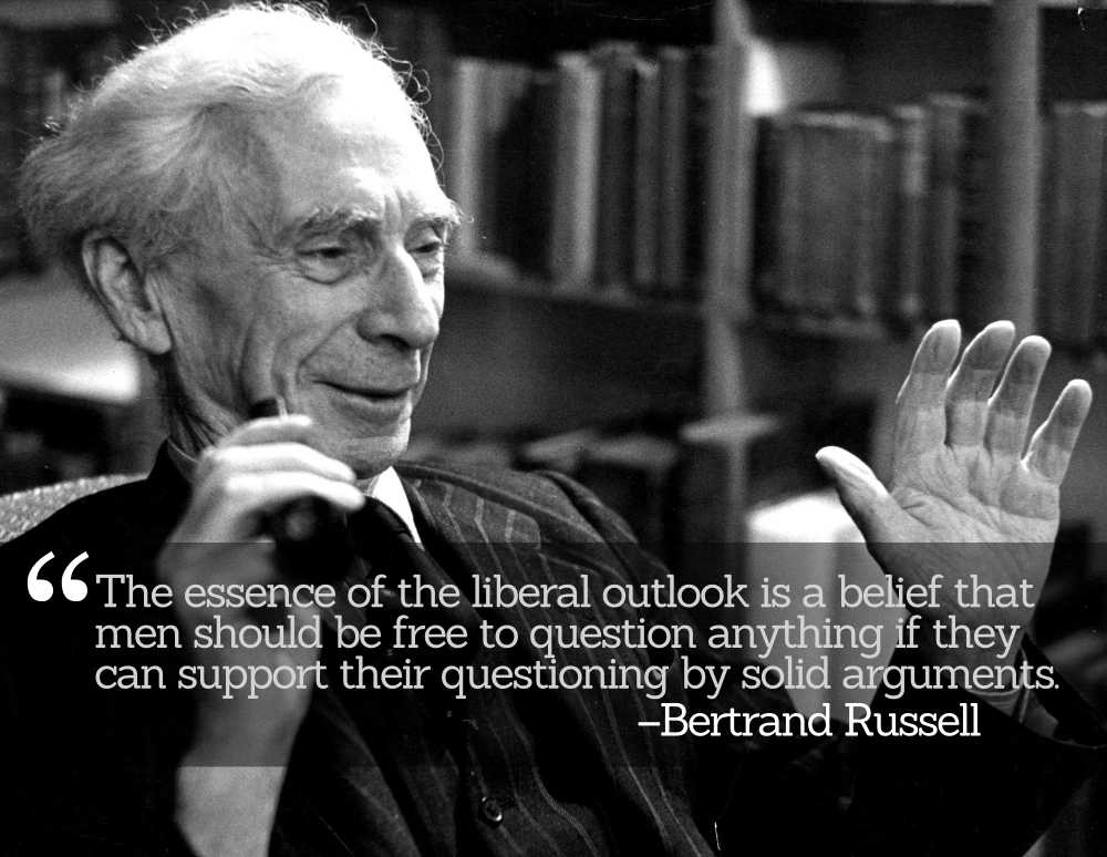 Bertrand Russell's Ten Commandments of Honest Thought and Discourse