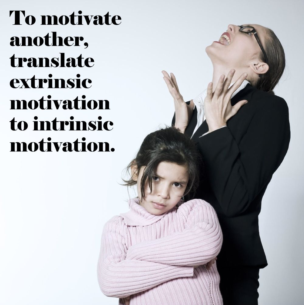 Extrinsic Motivation Does not Exist