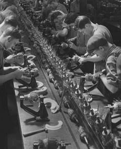 Innovation by Imitation: Genesis of the Moving Assembly Line