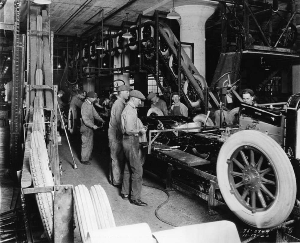 Innovation by Imitation: Many Innovations Come from the Outside---How Henry Ford Developed the Moving Assembly Line for the Model T