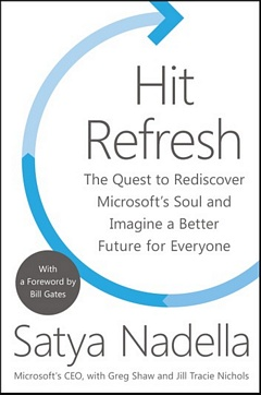 'Hit Refresh' by Satya Nadella (ISBN 0062959727)