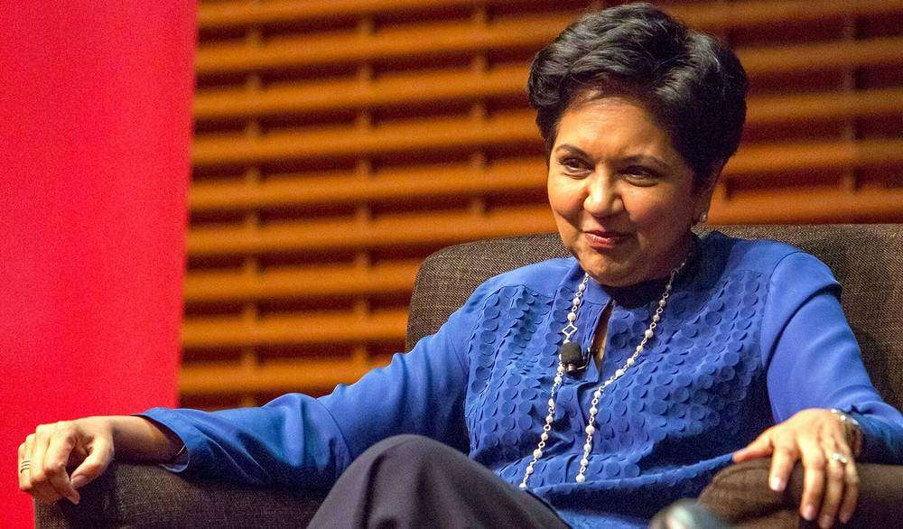 Indra Nooyi got Advice from Steve Jobs: Throw Tantrums