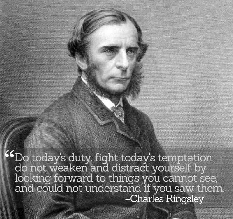 Inspirational Quotations by Charles Kingsley
