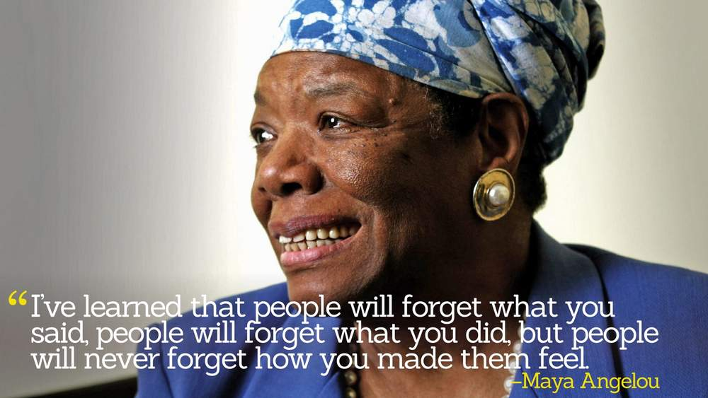 The Best Inspirational Quotations By Maya Angelou