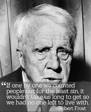 Inspirational Quotations by Robert Frost