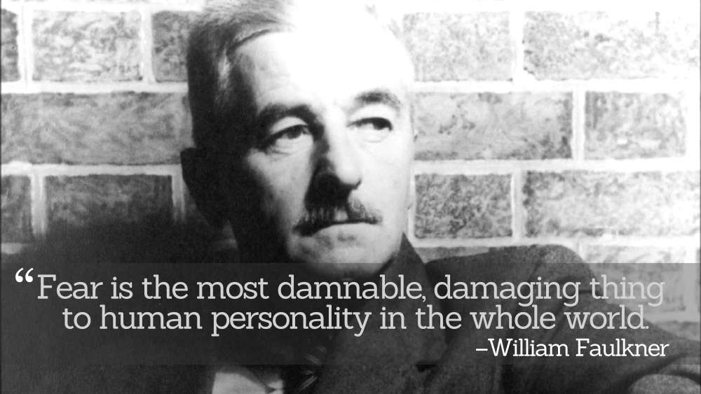 Inspirational Quotations by William Faulkner
