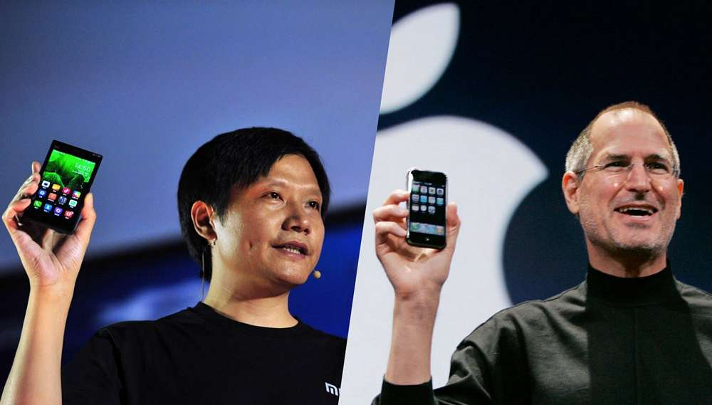 Lei Jun, the Steve Jobs-mimicking chief of Chinese consumer electronics company Xiaomi