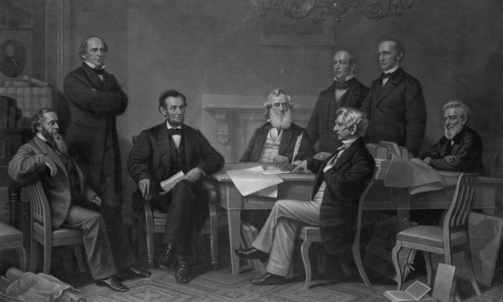 Lincoln was a genius for putting his political foes in his cabinet