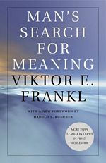'Man's Search For Meaning' by Viktor Frankl (ISBN 0671023373)
