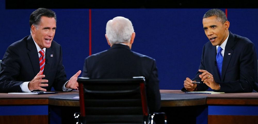Barack Obama and Mitt Romney Debate: Logos is Aristotle's Techniques for Persuasion #3