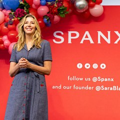 Sara Blakely's entrepreneurial journey for Spanx