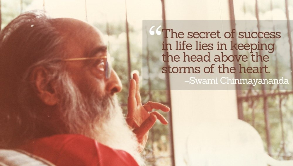 Swami Chinmayananda Saraswati on resilience and equanimity