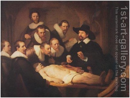 The Anatomy Lesson Was a Documentary of Sorts