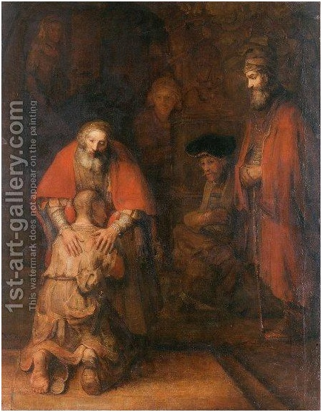 The Hand in the Return of the Prodigal Son