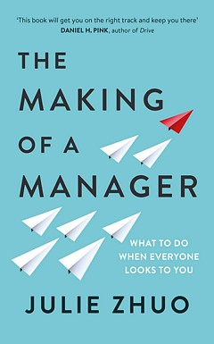 'The Making of a Manager' by Julie Zhuo (ISBN 0735219567)