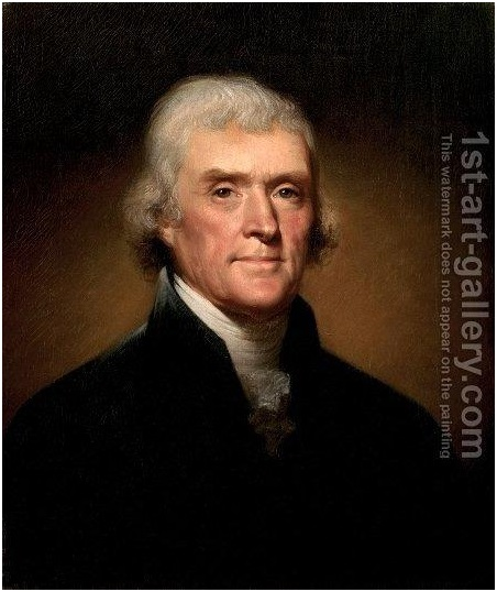 The Portrait of Thomas Jefferson