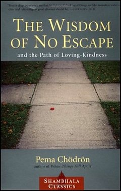 'The Wisdom of No Escape' by Pema Chodron (ISBN 1590307933)