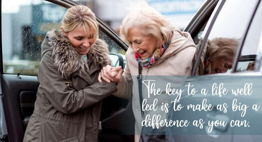 Your Life is Your Contribution: The key to a life well led is to make as big a difference as you can