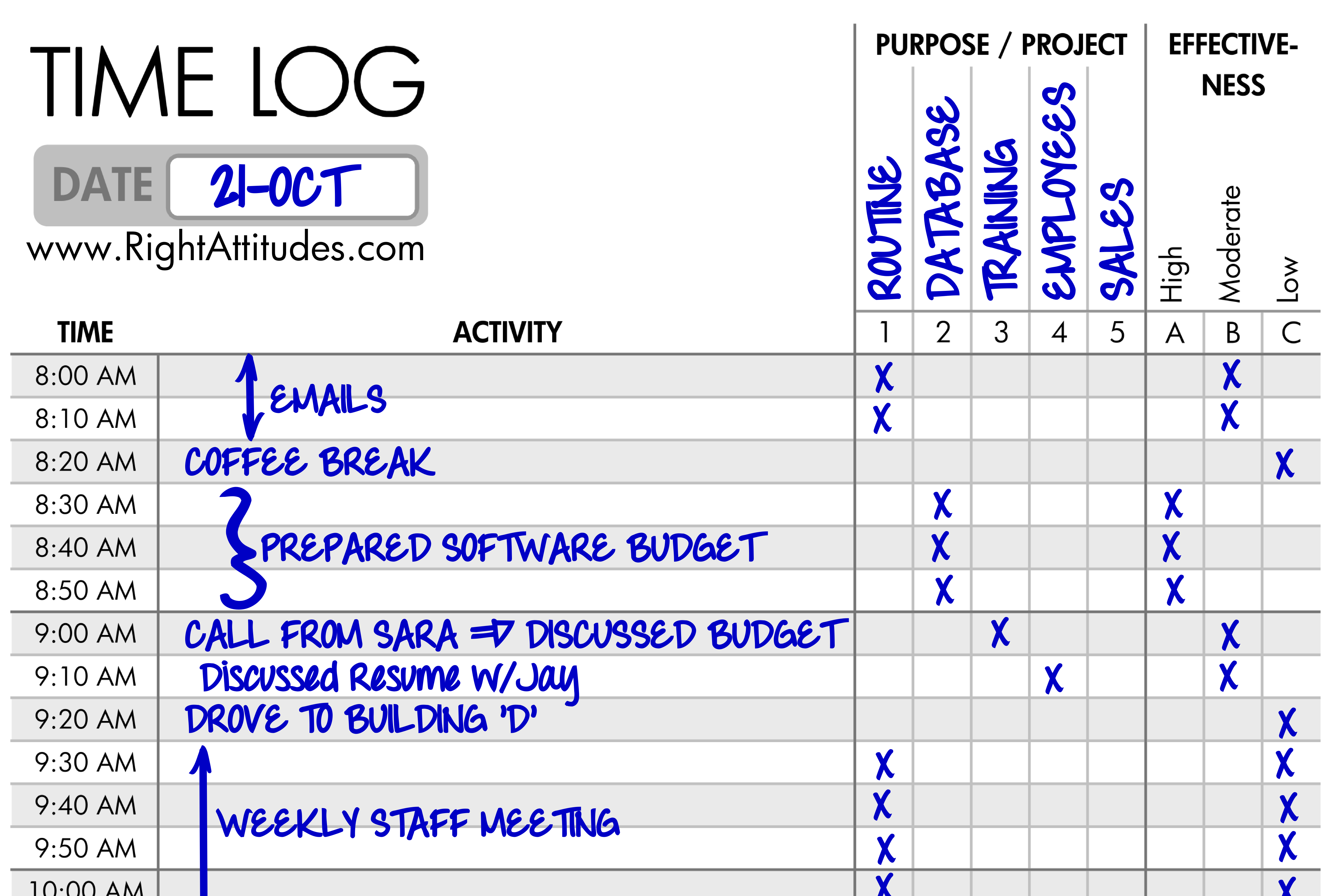 Time Management #2] Time Logging: Log Where Your Time Actually Goes