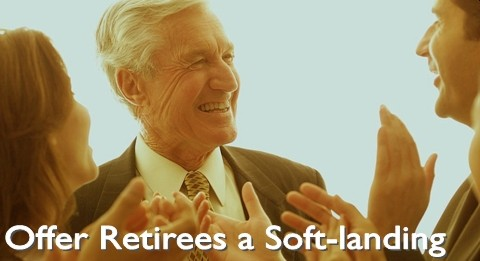 Offering retirees a soft-landing
