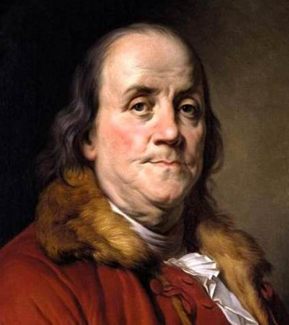 Benjamin Franklin, American inventor, journalist, printer, diplomat, author, and founding father