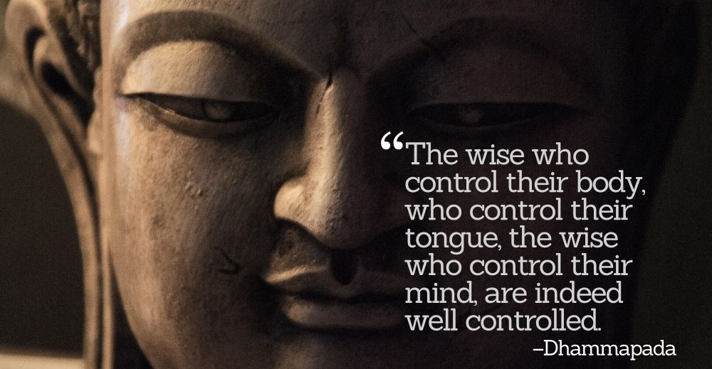 Buddha on Anger (Dhammapada)