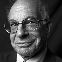 Israeli-American psychologist Daniel Kahneman, Author of Thinking, Fast and Slow (2011)