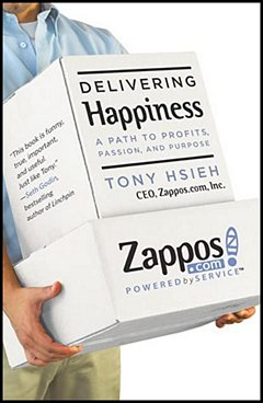 'Delivering Happiness' by Tony Hsieh (ISBN 0446576220)