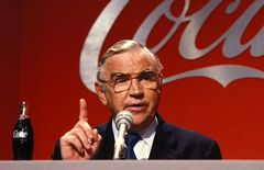 Coca-Cola executive Donald Keough