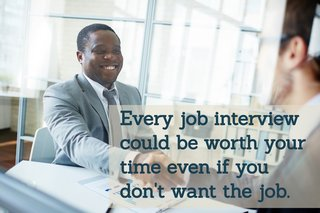 Why You Should Interview For a Job Even if You Don't Want It