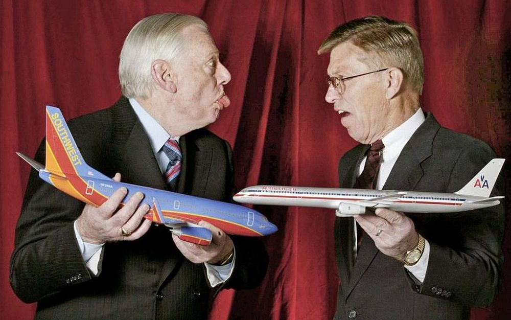 Herb Kelleher Evolved a Lighthearded Spirit and a Competitive Culture at Southwest Airlines