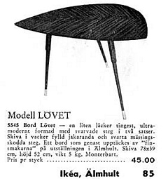 IKEA Flatpack Revolution - Gillis Lundgren's Lovet Table