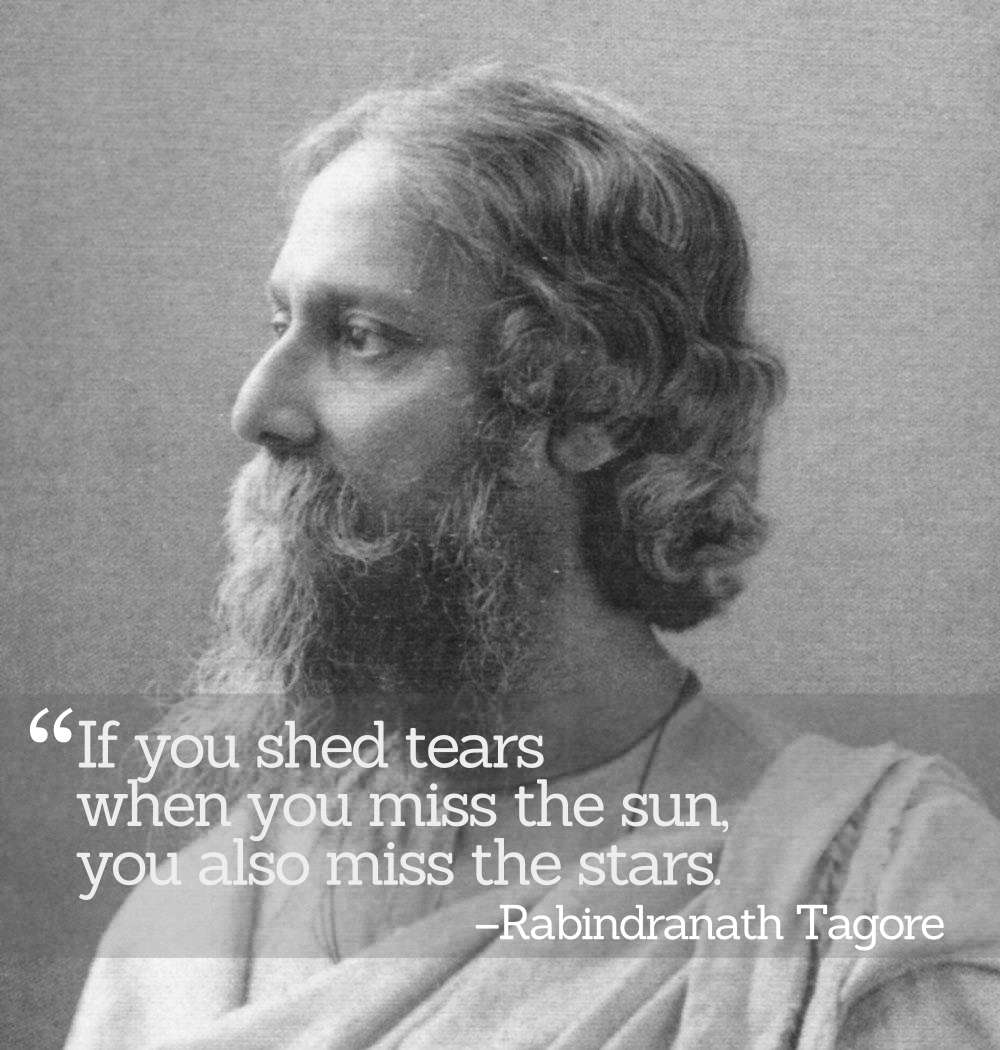 Inspirational Quotations by Rabindranath Tagore