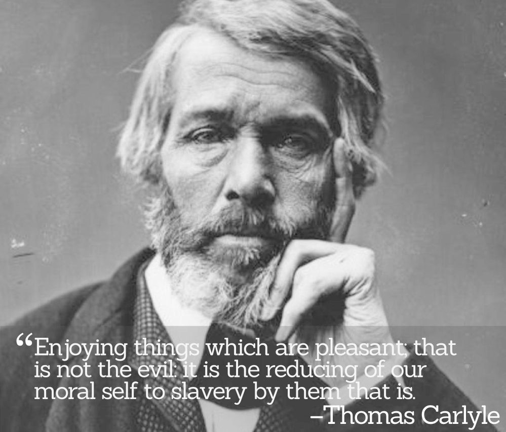 Inspirational Quotations by Thomas Carlyle