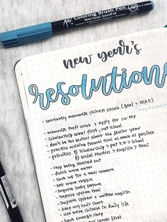 New Year Intentions, Not Resolutions