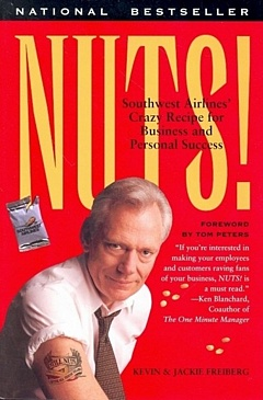 'Nuts- Southwest Airlines' by Kevin and Jackie Freiberg (ISBN 0767901843)
