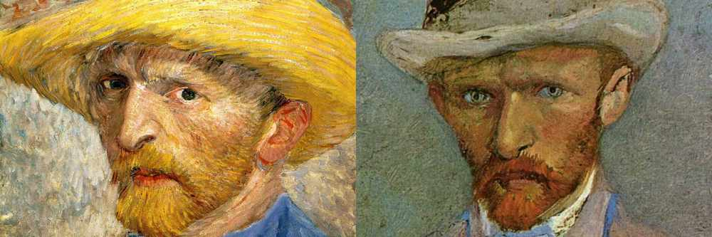 Portraits of Vincent van Gogh and Theo van Gogh
