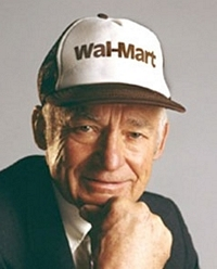 Sam Walton, Founder of Wal-Mart Stores