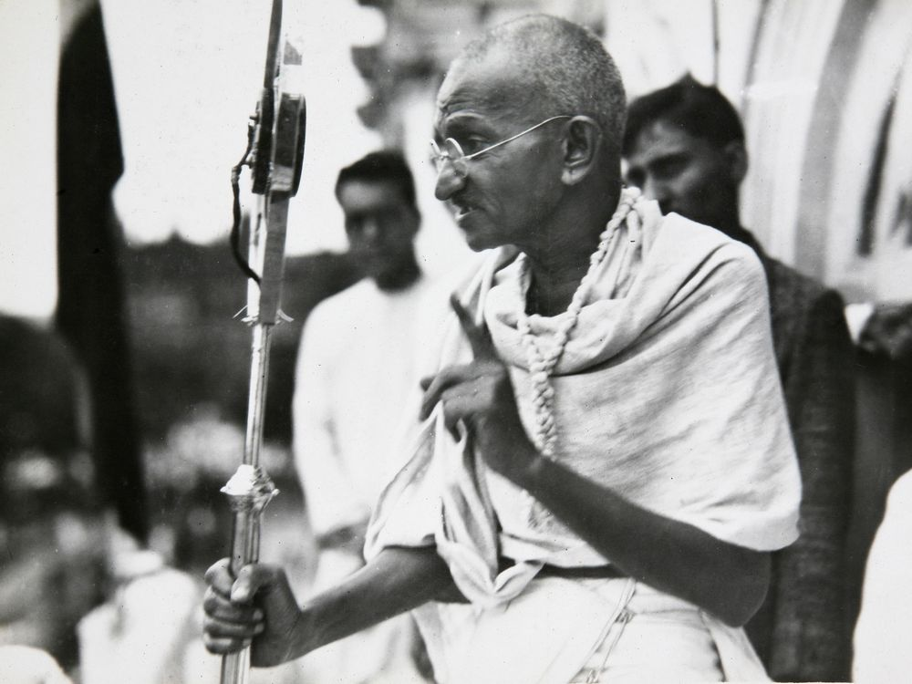 Speech by Mahatma Gandhi: Ethos is Aristotle's Techniques for Persuasion #1