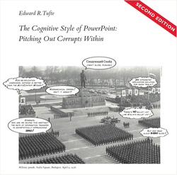 'The Cognitive Style of PowerPoint' by Edward Tufte (ISBN 0961392169)