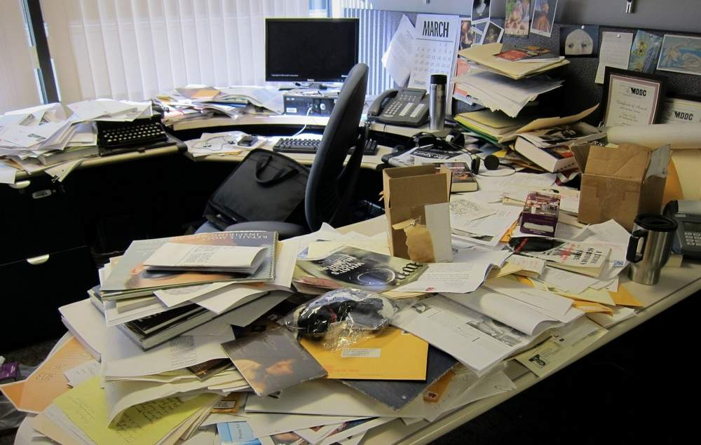 What Your Messy Desk Says About You