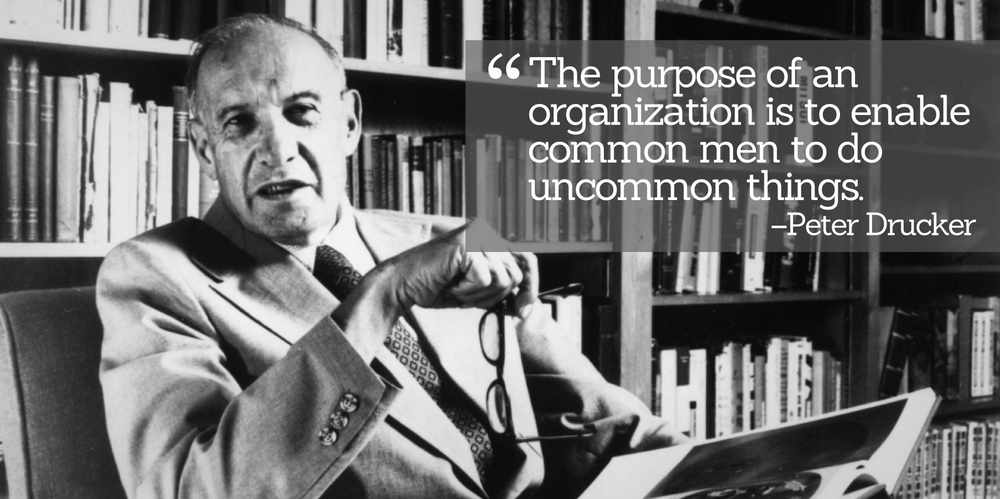 The Legacy of Peter Ferdinand Drucker